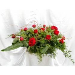 Stroiki z kwiatów żywych