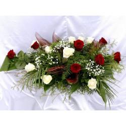 Wiązanki z kwiatów żywych