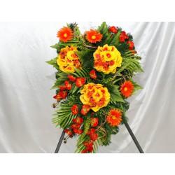 Wiązanki z kwiatów sztucznych